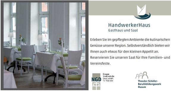Bild 1 Restaurant Handwerkerhaus Theodor-Sch�fer-Berufsbildungswerk in Husum