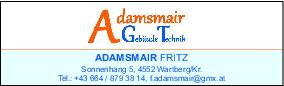 Bild von: Adamsmair, Friedrich, Gebäudetechnik