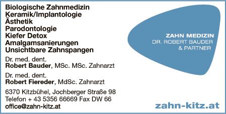 Galerie-Bild 1: ZAHN MEDIZIN aus Kitzbühel von Bauder, Robert, Dr., FA f Zahn-, Mund-u Kieferheilkunde