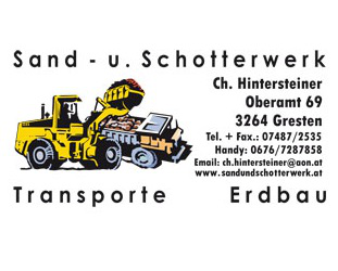 Bild von: Hintersteiner, Christian, Sand u Schotter