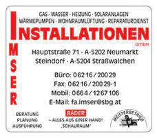 Bild von: Imser, Gerhard, Installationen, Gas-Wasser-Heizung