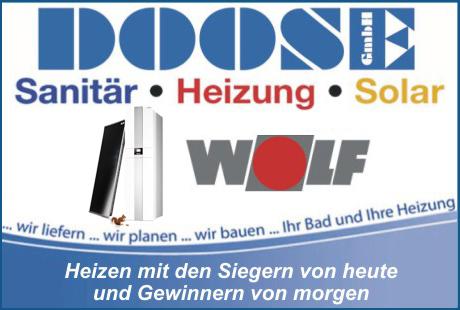 DOOSE GmbH Fachhandel und Installation für Bäder * Heizung * Solar