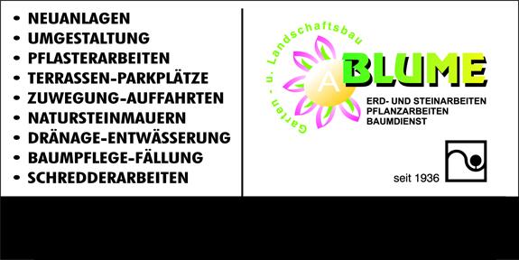 Blume Garten- und Landschaftsbau GmbH & Co. KG