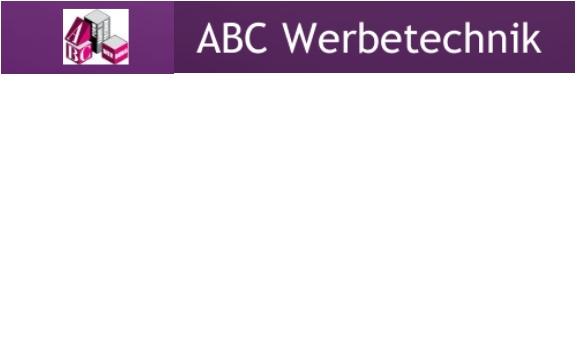 ABC Werbetechnik Ralf Cujad