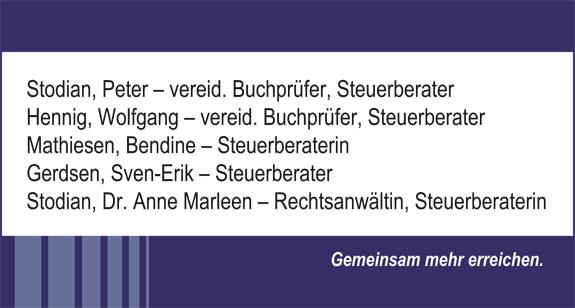 Stodian, Hennig, Mathiesen & Partner mbB