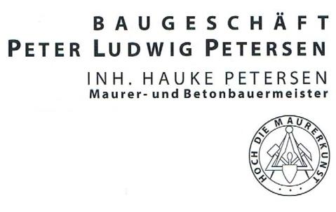 Baugeschäft Peter Ludwig Petersen Inh. Hauke Petersen