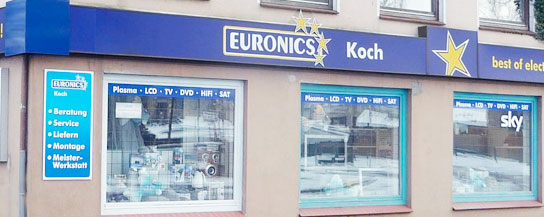 Euronics Koch - Fernsehen u. Unterhaltungselektronik