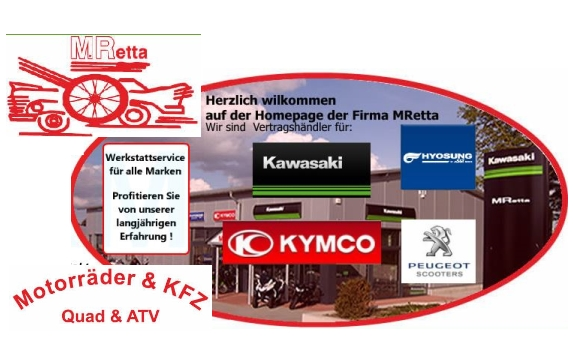 MRetta - Kawasaki Vertragshändler