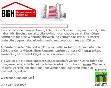 Baugenossenschaft Holstein eG