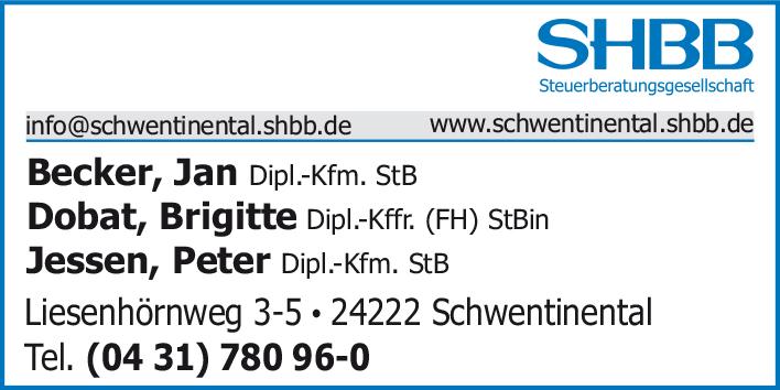 SHBB - Steuerberatungsgesellschaft - Beratungsstelle Schwentinental