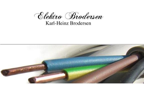 Elektro Brodersen, Inh. Karl-Heinz Brodersen