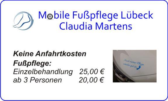 Mobile Fusspflege Claudia Martens