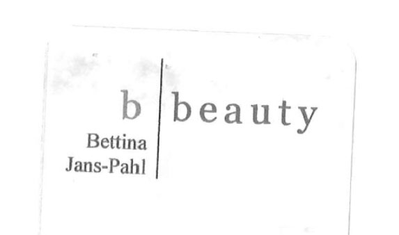 b beauty Bettina Pahl