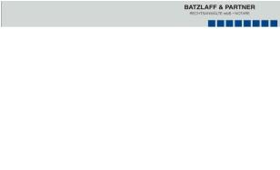 Anwälte Batzlaff & Partner