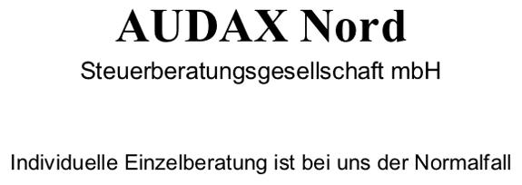 AUDAX Nord Steuerberatungsgesellschaft mbH