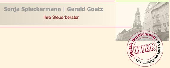 Spieckermann | Goetz Steuerberater PartG mbB