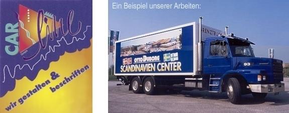 CarLine Fahrzeugbeschriftungen Petra Grütz