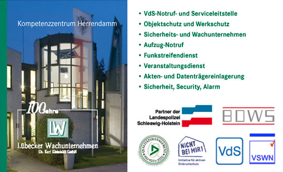 Lübecker Wachunternehmen Dr. Kurt Kleinfeldt GmbH
