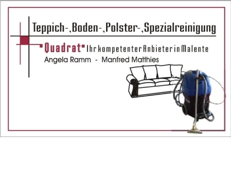 Quadrat Teppichreinigung-Ostholstein