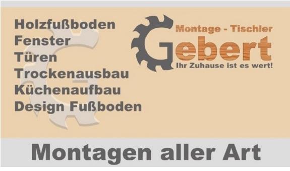 Montage-Tischler-Gebert Inh. Vladimir Gebert