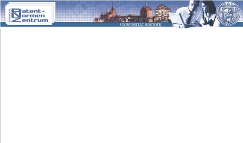 Universitätsbibliothek Rostock-Patent- und Normenzentrum