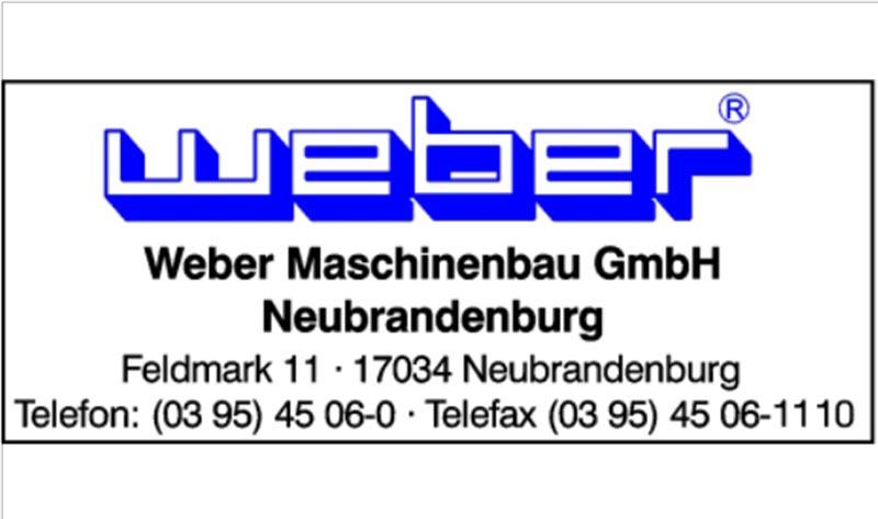 Weber Maschinenbau GmbH Neubrandenburg