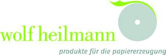 Logo wolf heilmann - produkte für die papiererzeugung