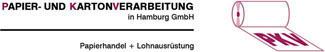 Logo PKV Papier- und Kartonverarbeitung in Hamburg GmbH, Papierhandel + Lohnausrüstung